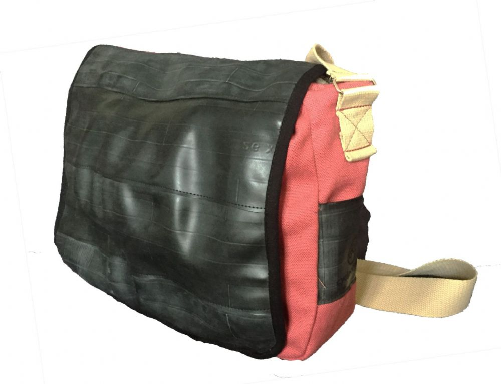 Cycle of Good Katunda Inner Tube Courier Bag